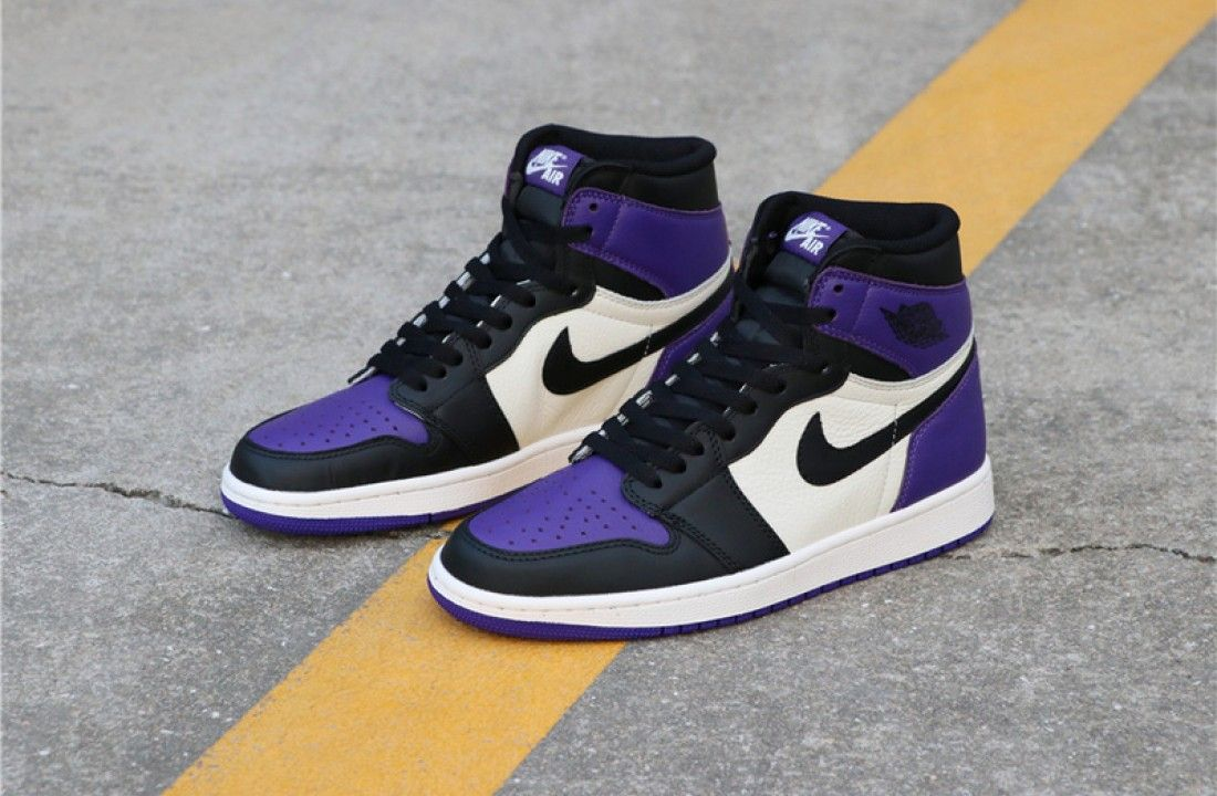 Adelaide negativo Onestà  Air Jordan 1 Retro High Court Purple 555088-501 in 2020 | Jordan shoes  girls, Air jordans retro, Hype shoes