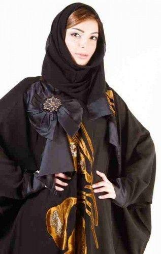 مجموعة من أحدث التصاميم المختلفة للعبايات Abaya Designs Fashion 2014 Fashion