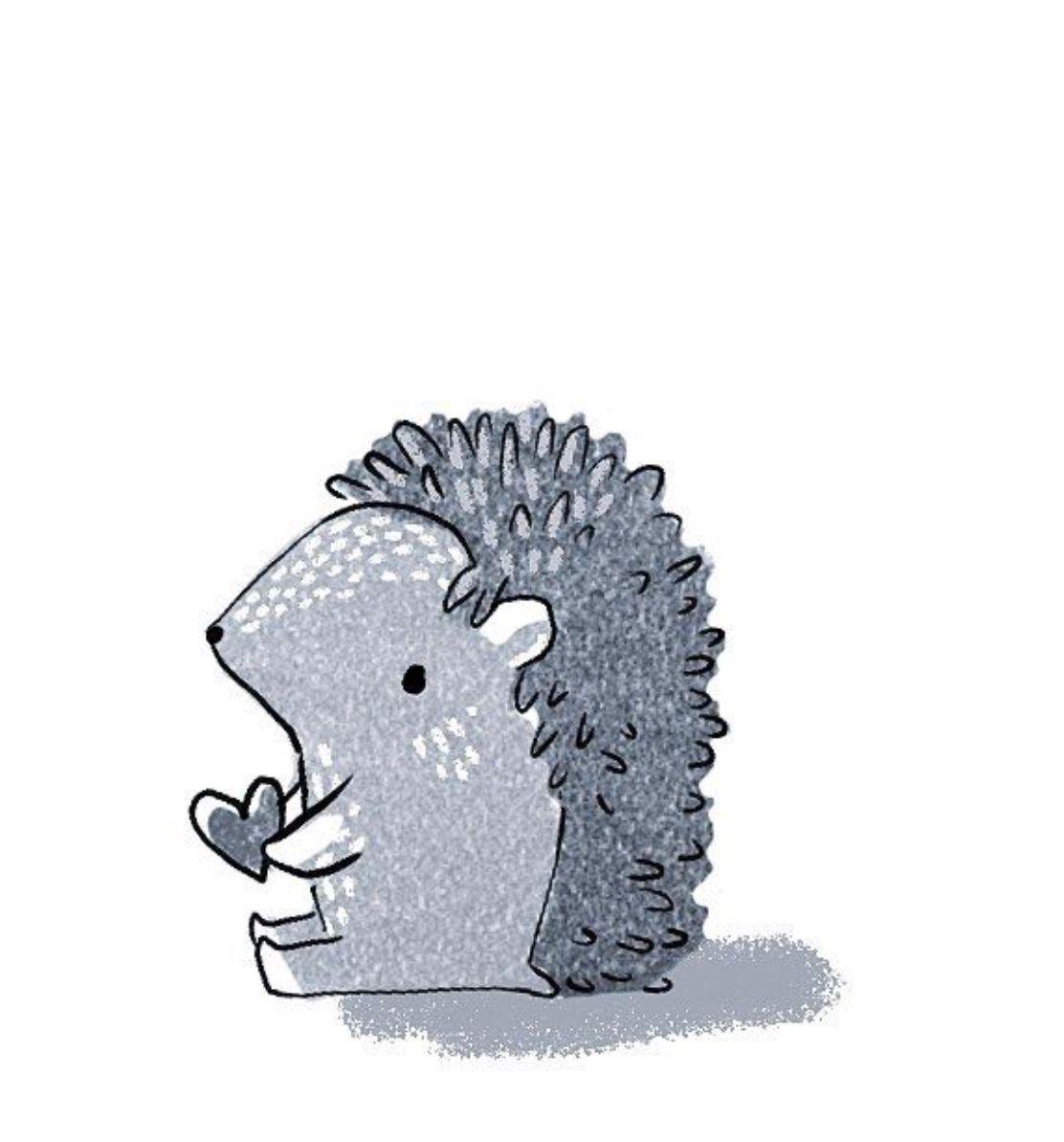 Cute Little Hedgehog Shelley Couvillion Doodles Pinterest