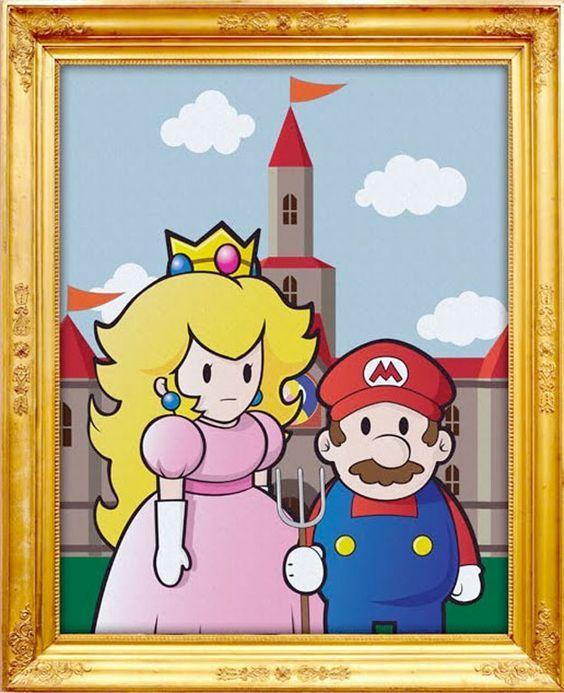 American Gothic Mario