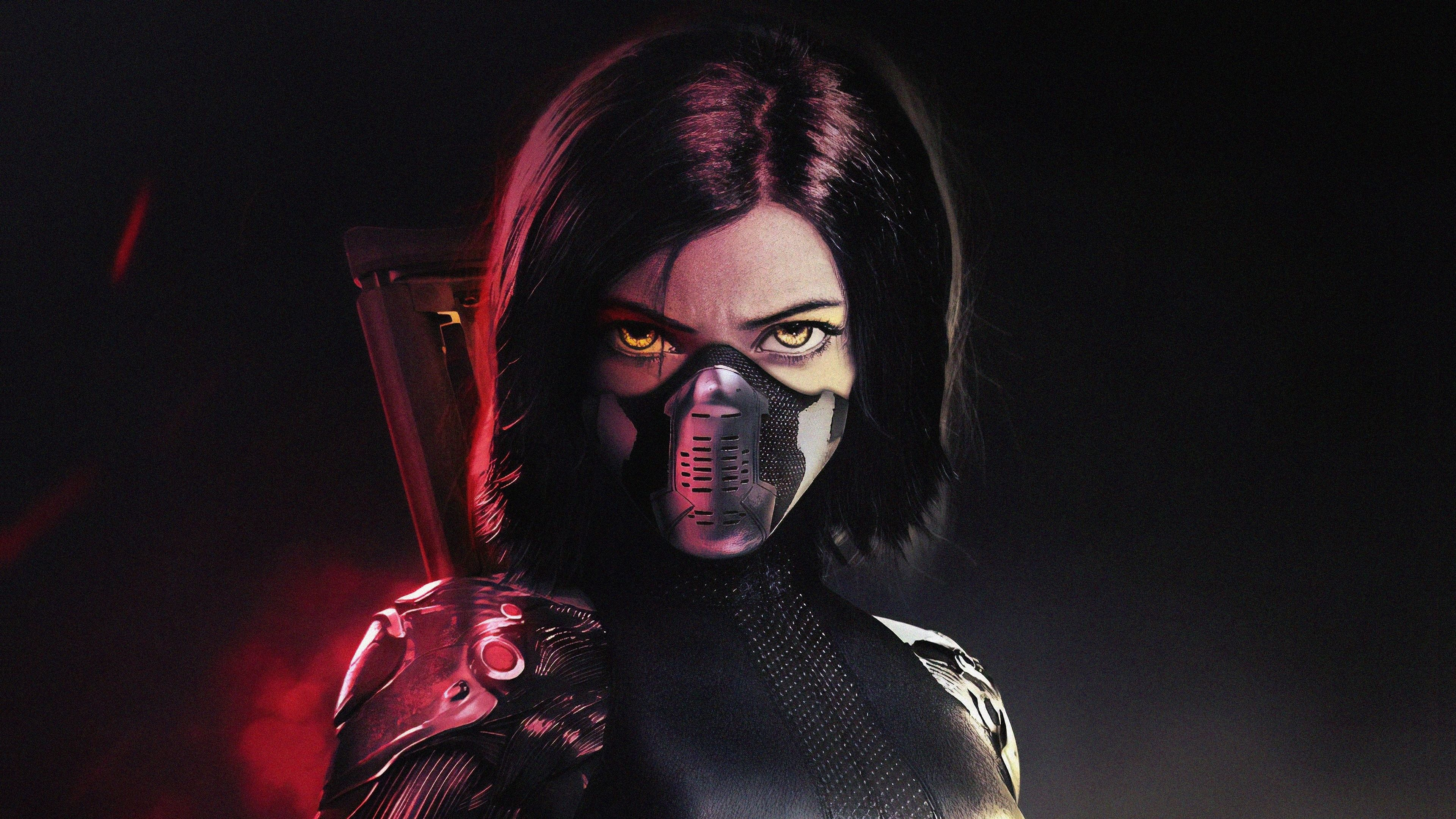 3840x2160 The Alita Battle Angel Movie 2019 Wallpaper