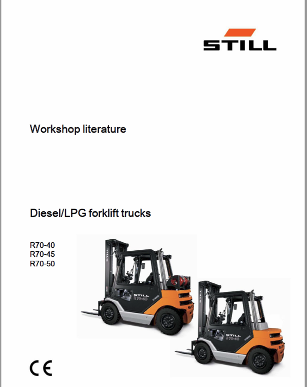 Still Electric Fork Truck R70: R70-25, R70-30, R70-35, R70