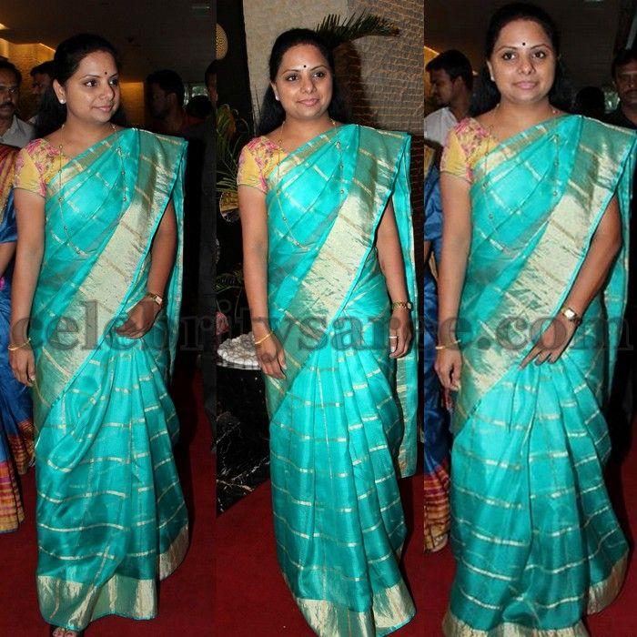 Kavitha Kora Silk Saree | Saree blouse, Silk sarees and Saree