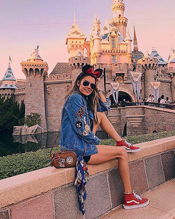 "Photo of Christine | HelloFashionBlog on Instagram: ""Disneyland ❤️🐭"""