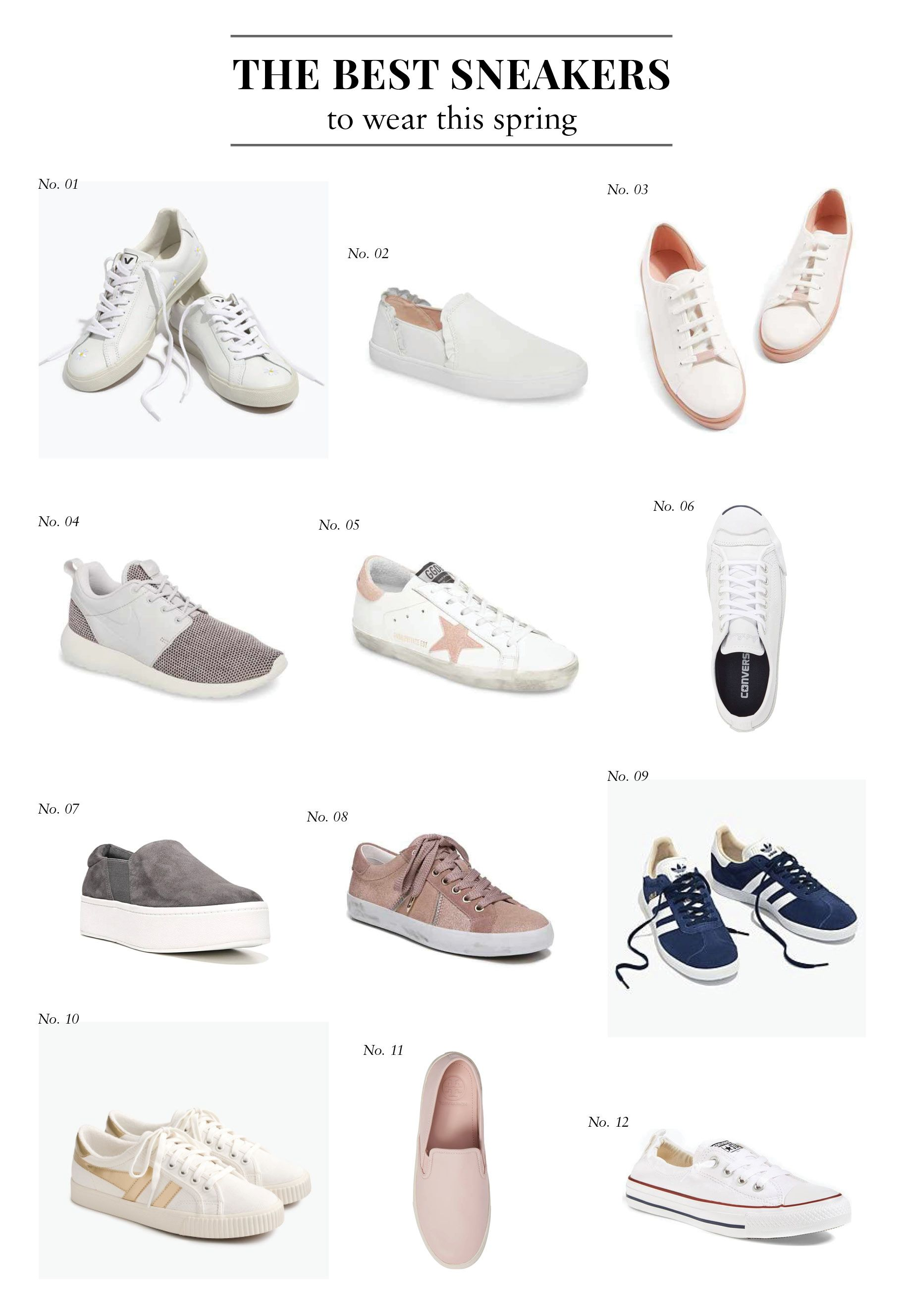 best womens white shoes