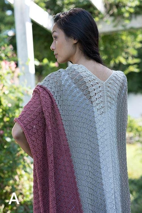 Portfolio Volume 3 Booklet   Ruana pattern, Knitting ...