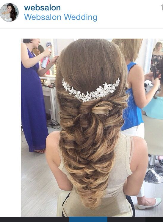 Bridal hair,hair jewel