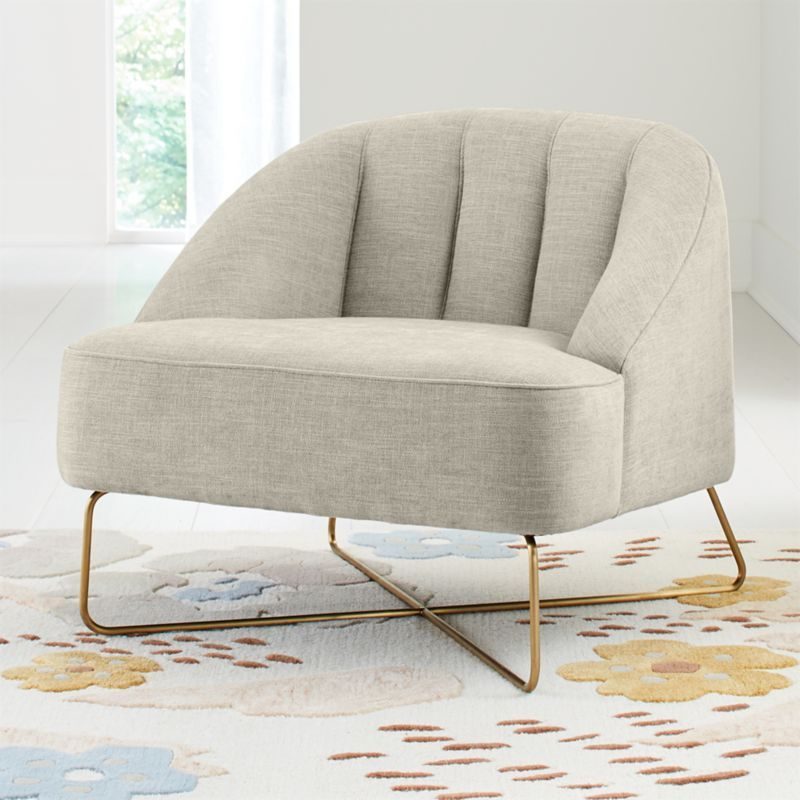 Sydney Kids Lounge Chair Crate And Barrel Kids Lounge Chair