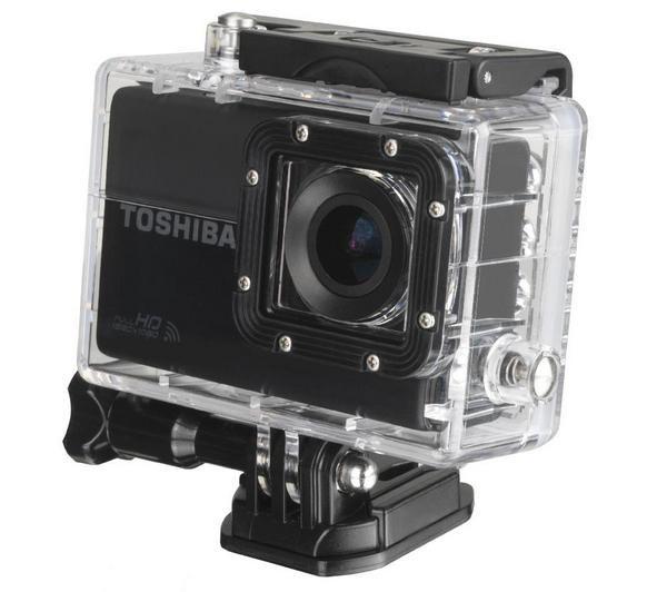 Caméra sport Pixmania, achat pas cher TOSHIBA Camileo X-Sports