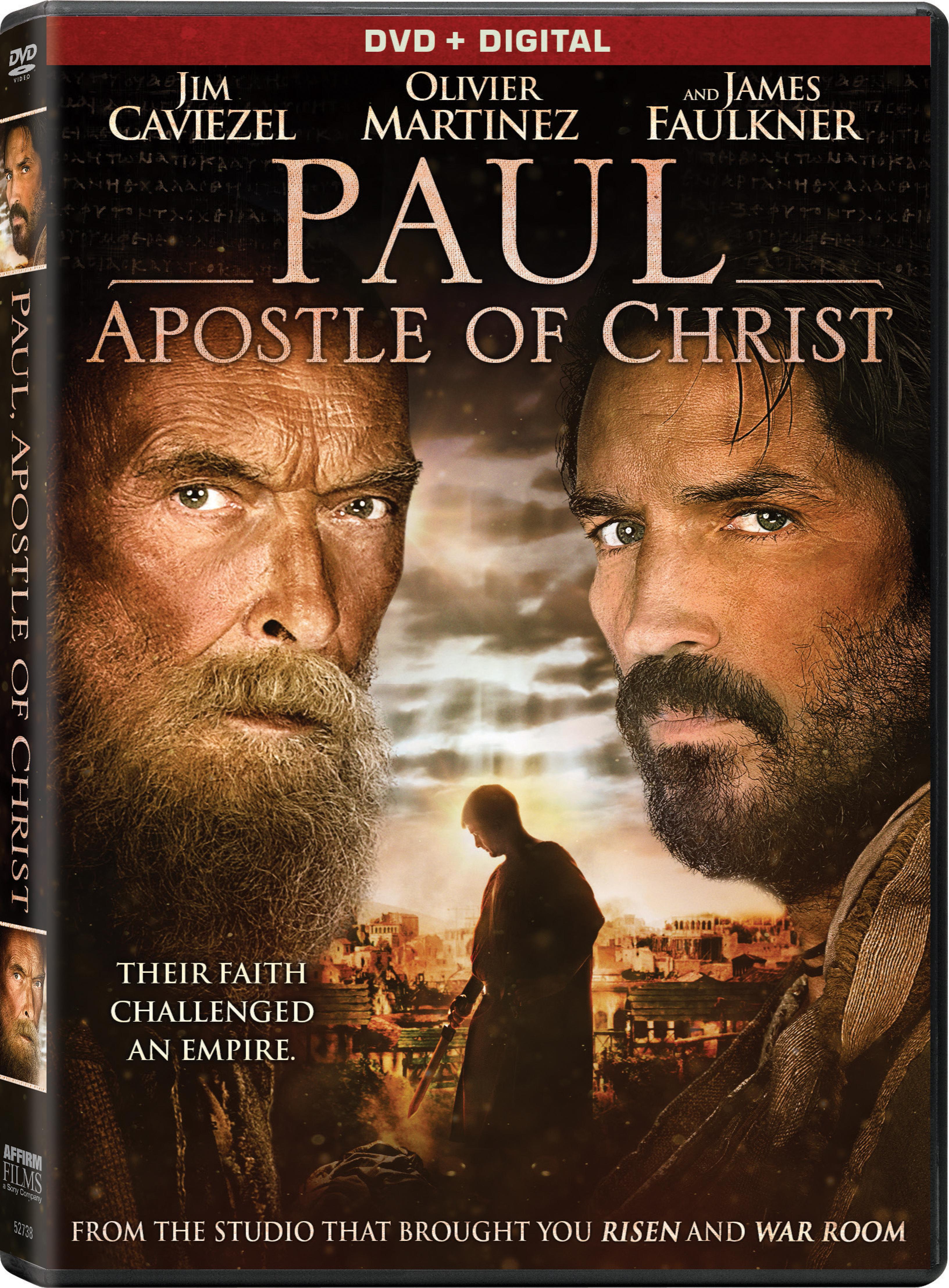 Paul, Apostle of Christ (DVD / Digital) Christ movie