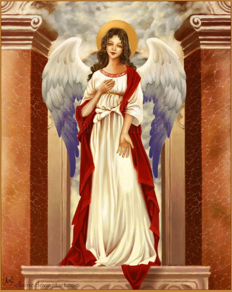 Renaissance Angel by ellaine Angel drawing, Angel art