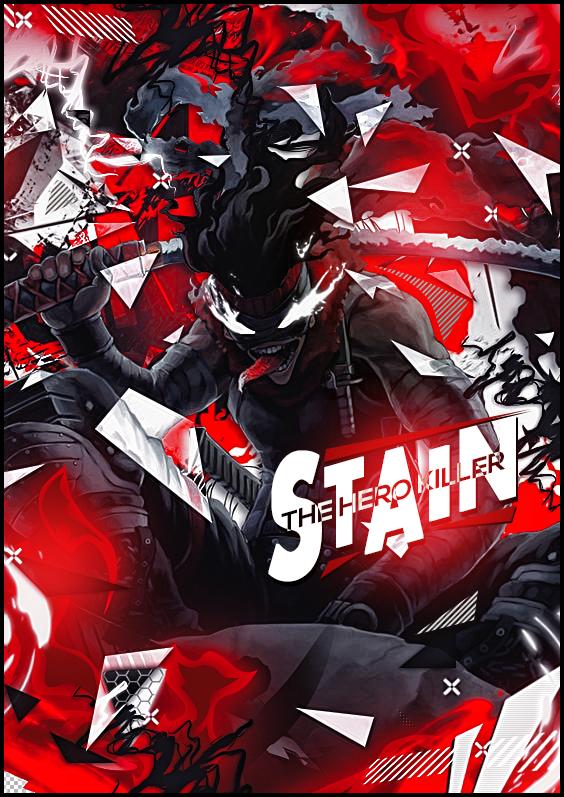 Hero killer stain boku no hero wallpaper 1. Pin on anime