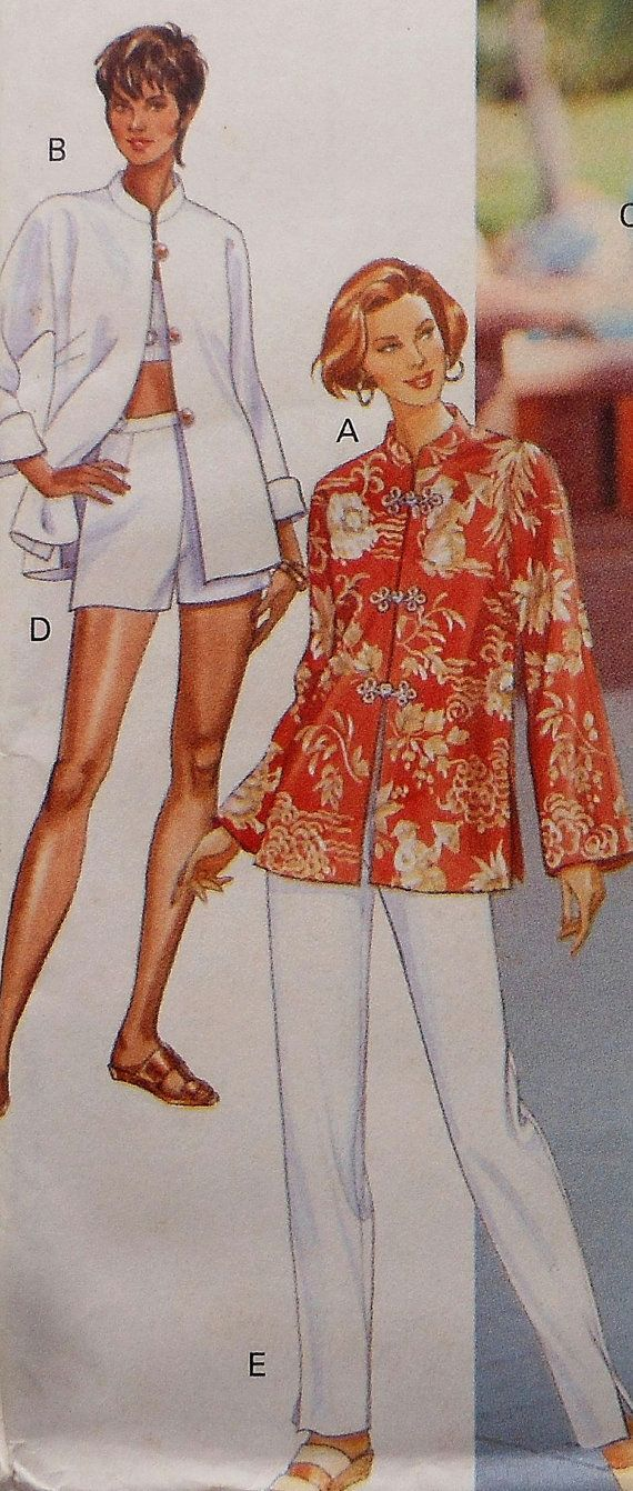 0f1152fcf9964 Skirt Pants Shorts Top Sewing Pattern UNCUT Butterick 3500 Sizes 6 ...
