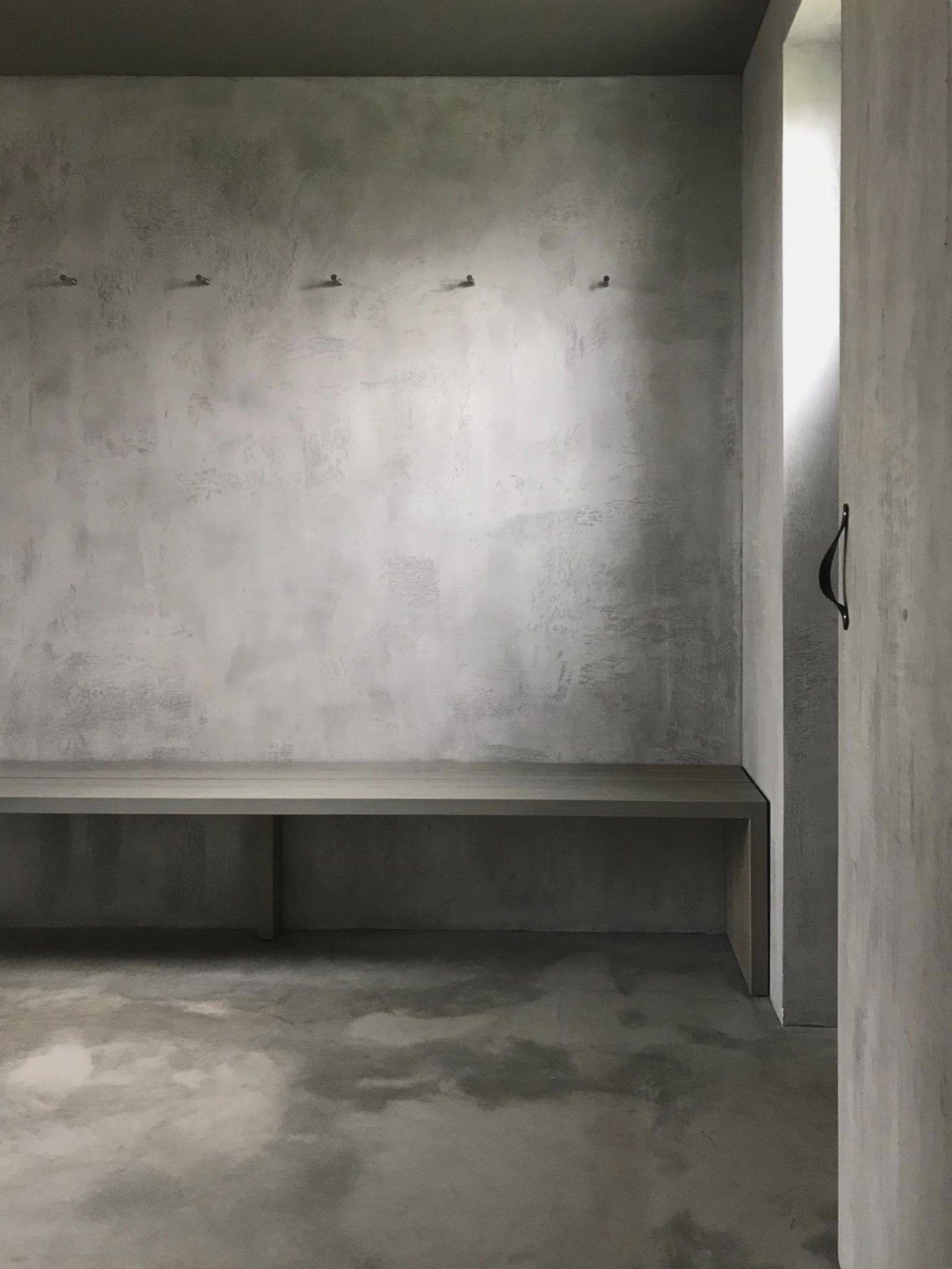 Terminacion Micro Cemento Casa Patio Cemento Casas
