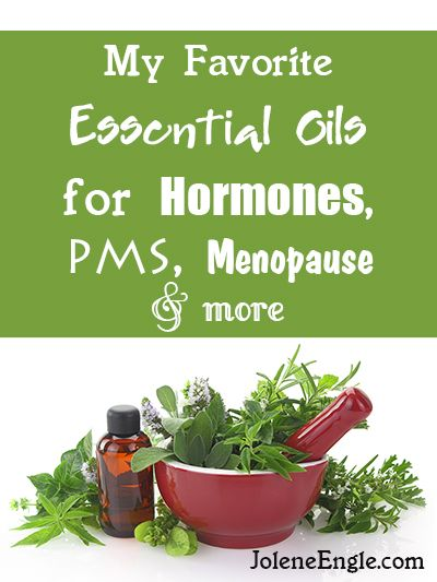 My Favorite Essential Oils for Hormones, PMS, Menopause, and more