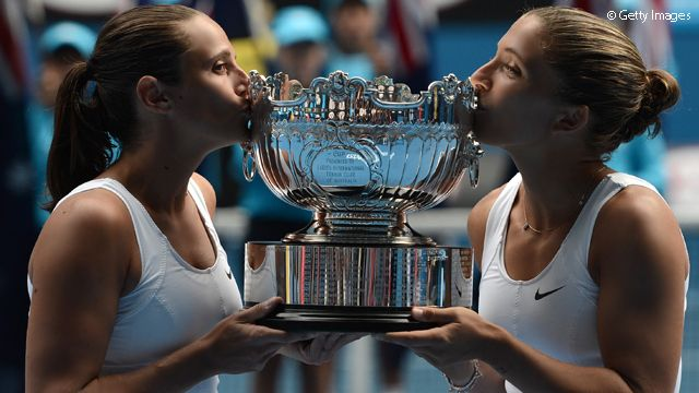 WTA's Doubles Team Of The Year - Sara Errani & Roberta Vinci. 11/22/13