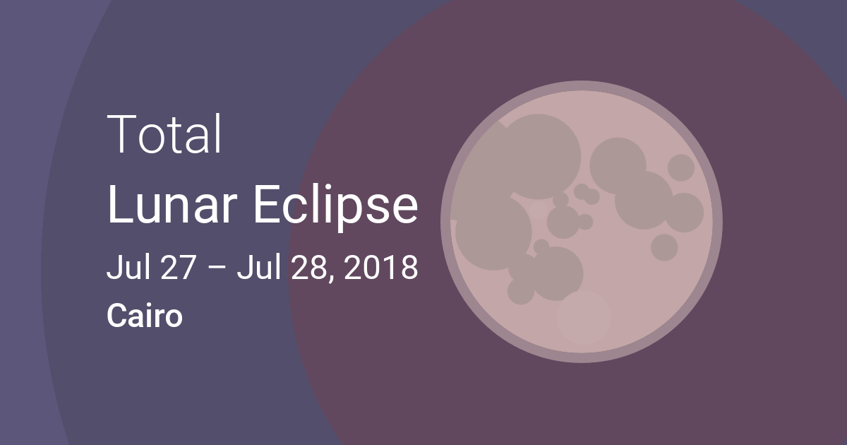 21 January 2019 Total Lunar Eclipse Cairo News And Live
