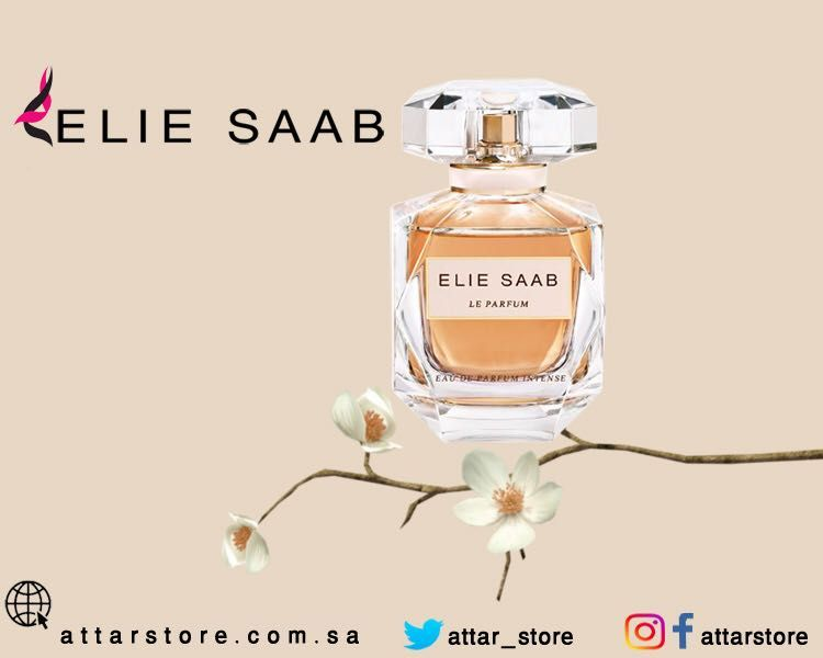 Elie Saab Le Parfum Eau De Parfum عطر زهري لـ النساء تتكون م قدمته من زهرة الليمون وقلب العطر من الياسمين والباتشولي Perfume Perfume Bottles Bottle