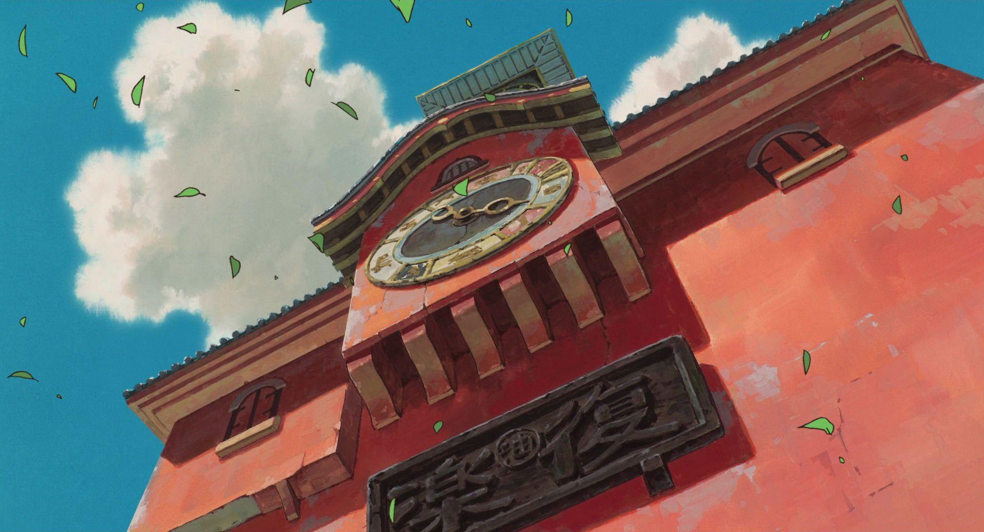Spirited Away (2001) 1080p アニメの風景, スタジオジブリ, ジブリ イラスト