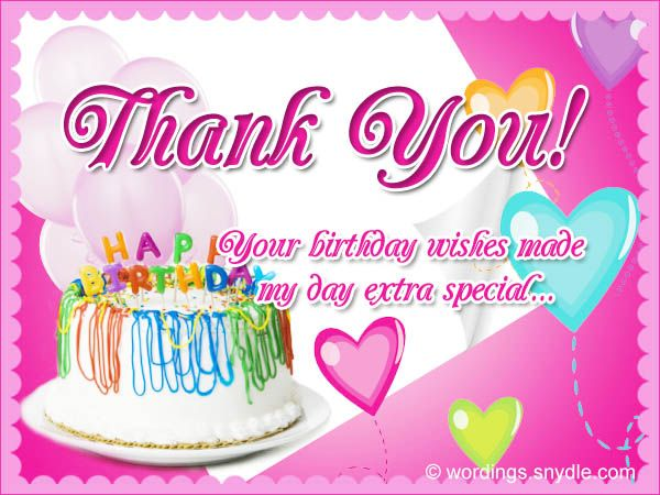 thank you so much dear friends for the birthday wishes – Thank You for the Birthday Card