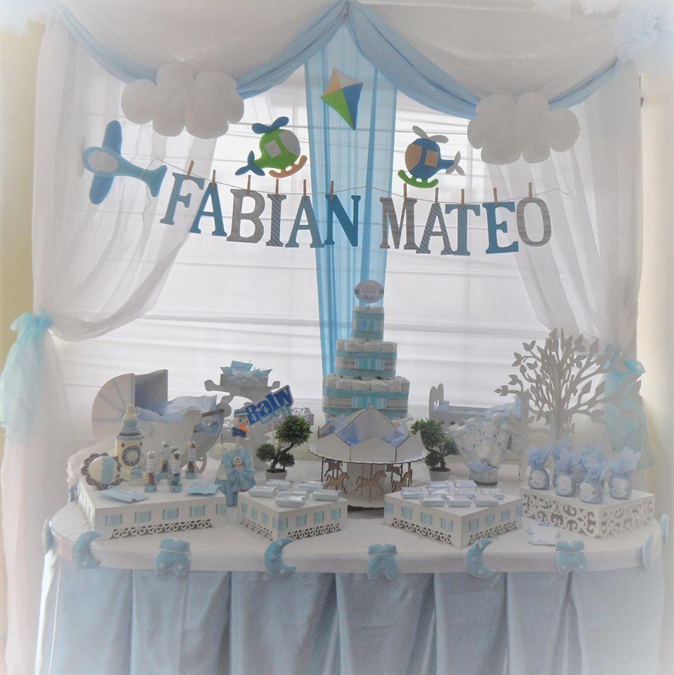 Amazing Decoración Para Baby Shower Niño