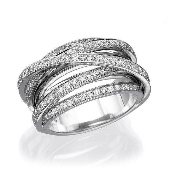 1 5 Tcw 14k White Gold Diamond Diamond Anniversary Bands 14k White Gold Wedding Band Diamond Anniversary Rings