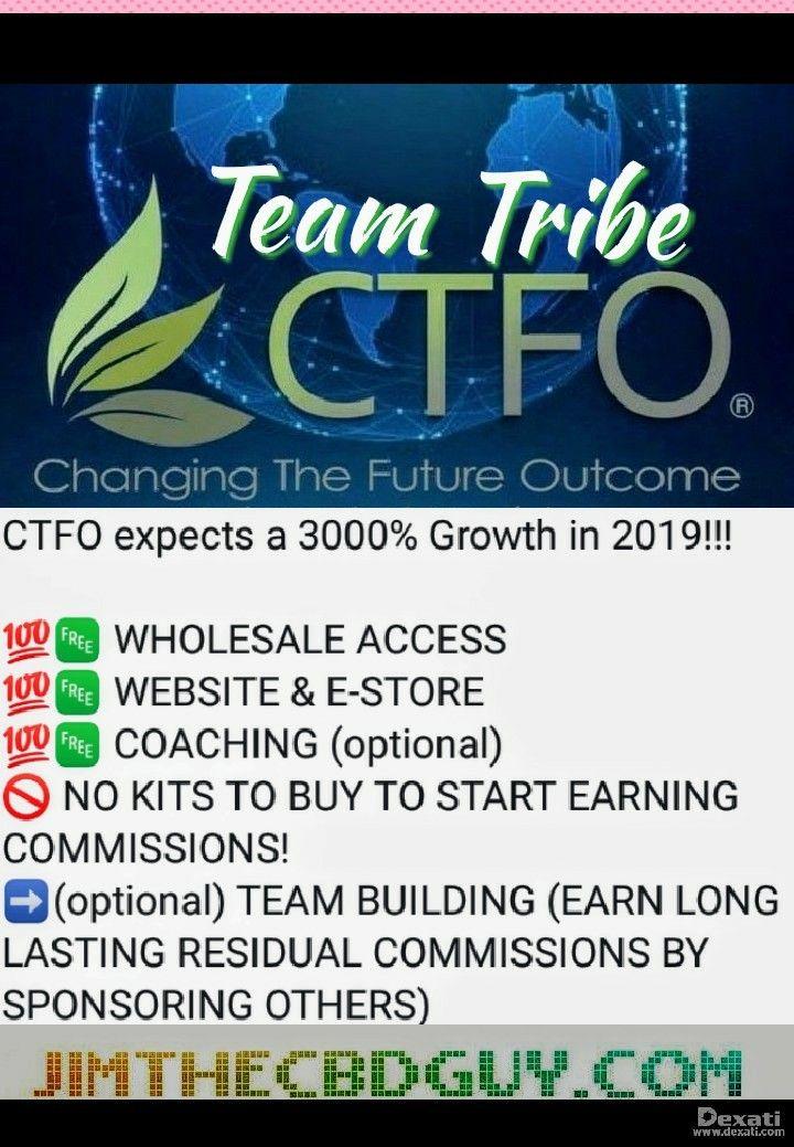‼Start your 🆓 Hemp Oil business today‼ Promote CTFO CBD