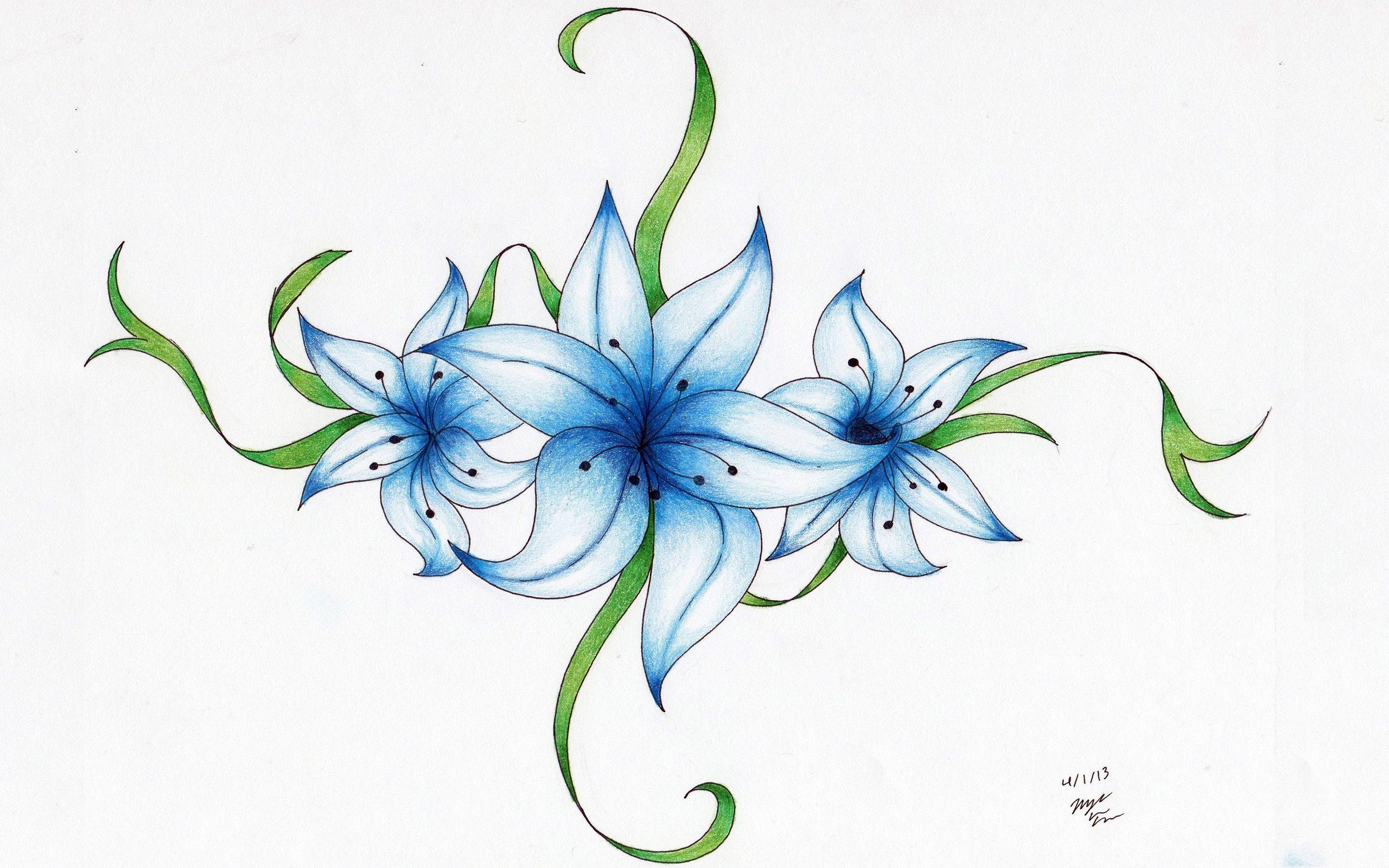 Tattoos Of Cosmos Flowers Colorful Flower Tattoo Flower Tattoo Designs Tattoos