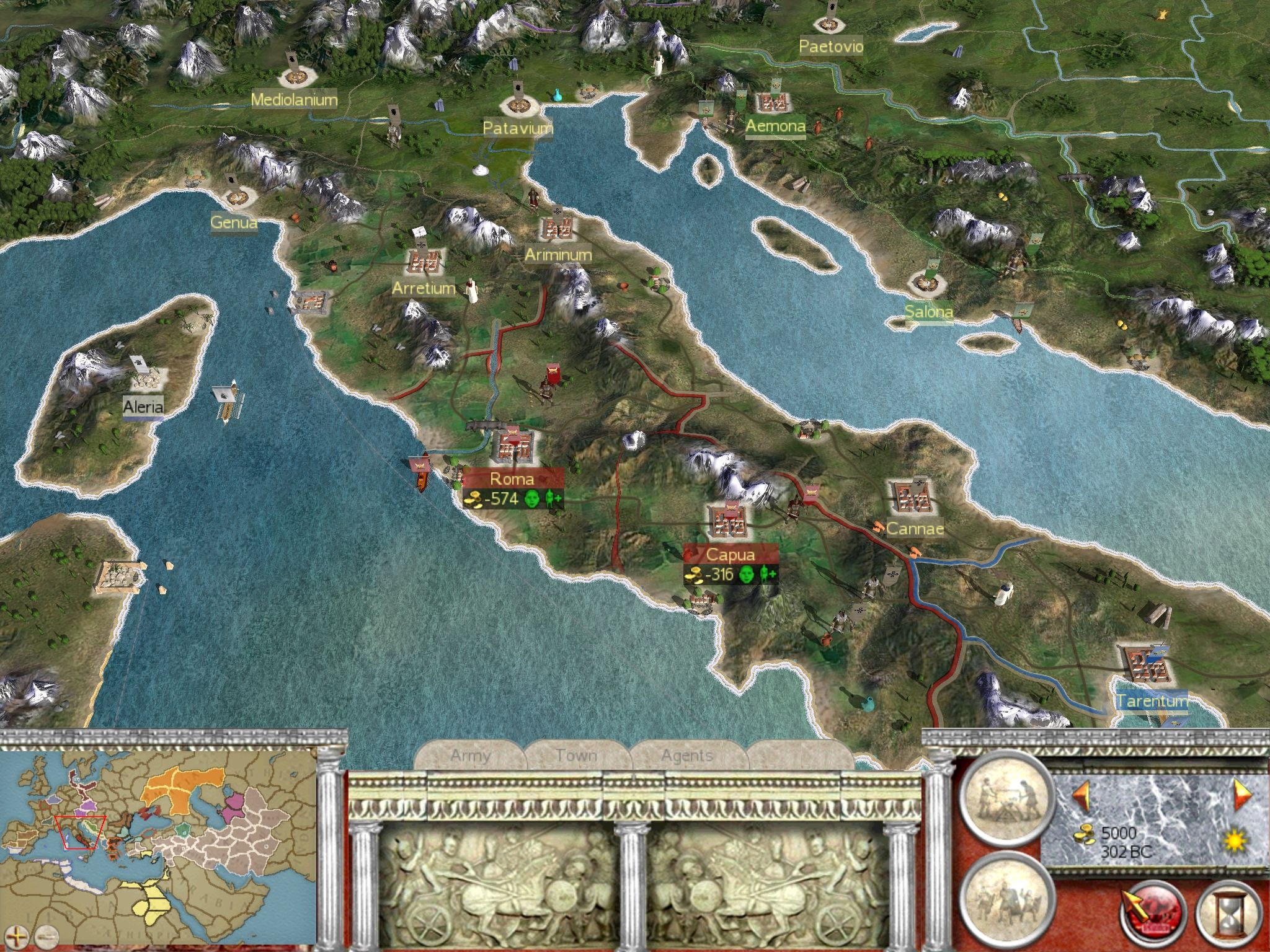 Image Result For Rome Total War Map GPS MAP PROJECT Pinterest - Rome map download