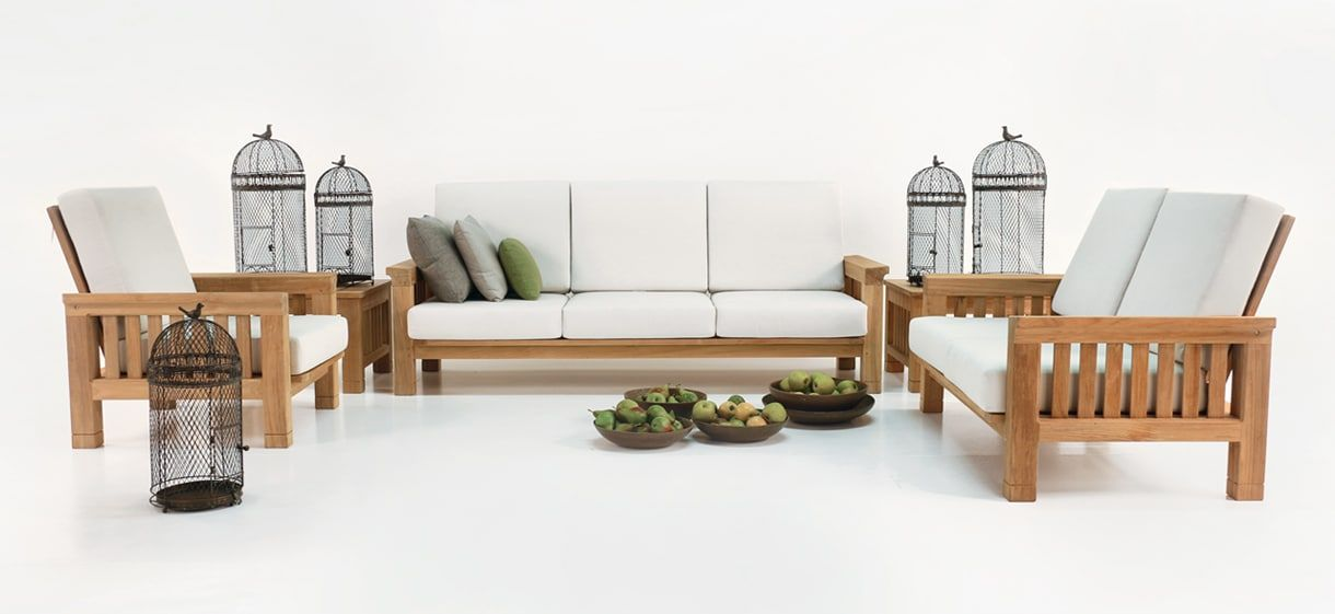 Awesome This Teak Outdoor Furniture Collection Is A Brilliant Combination Of  Tropical And Colonial Styling, With