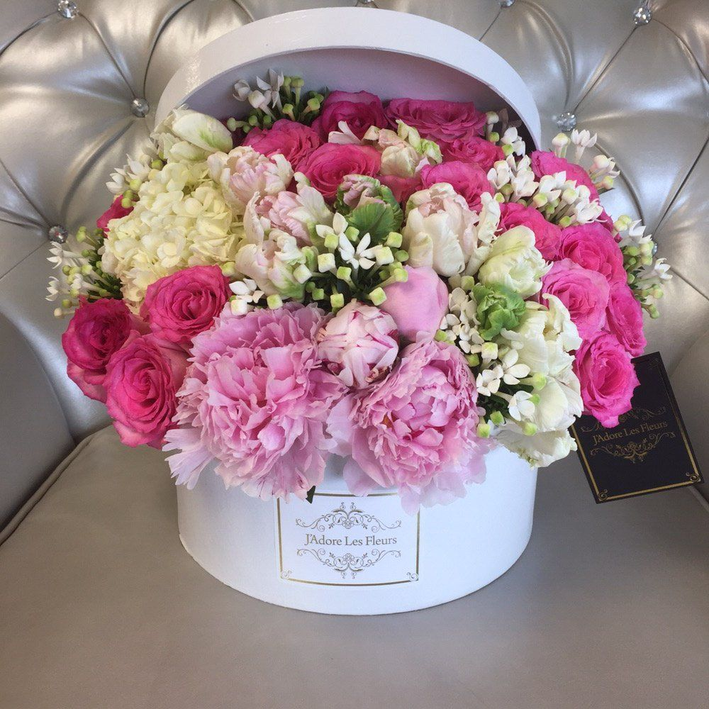 gifts with peonies on top - Google Search