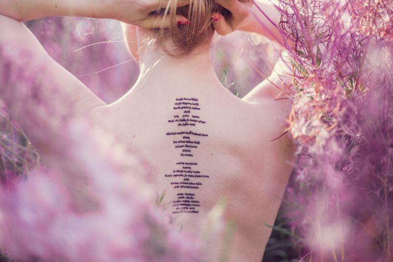 Uusin tatuointi // ANNIEVELIINA