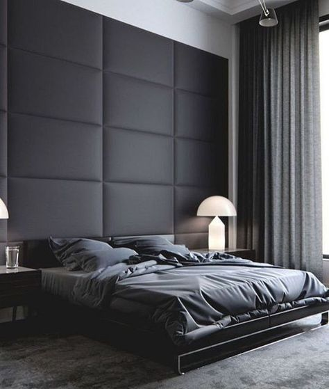 30 Contemporary Masculine Bedroom Ideas For Men Bedroom Interior Home Bedroom Modern Bedroom