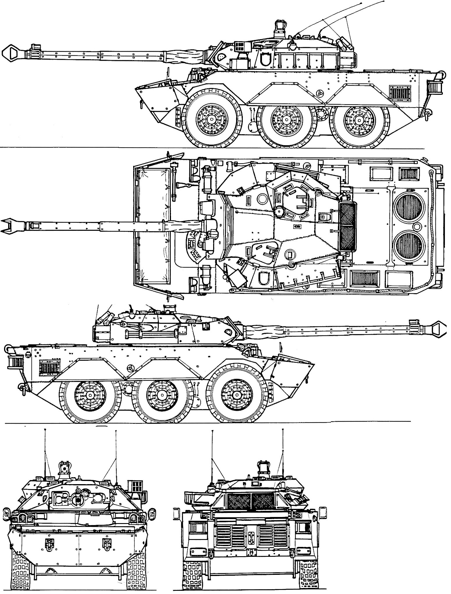 Maz 543p Blueprint Army Russland