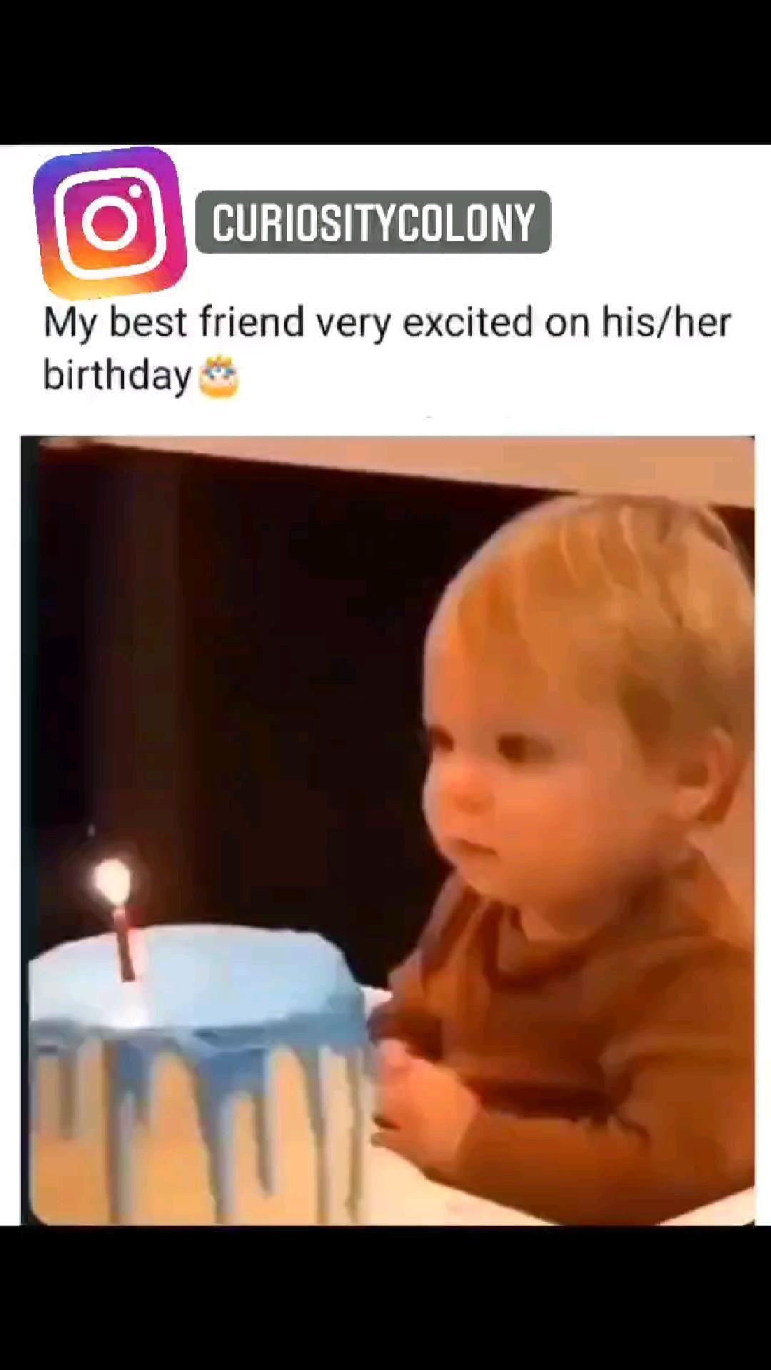 My best friend on his birthday 🤣🥺