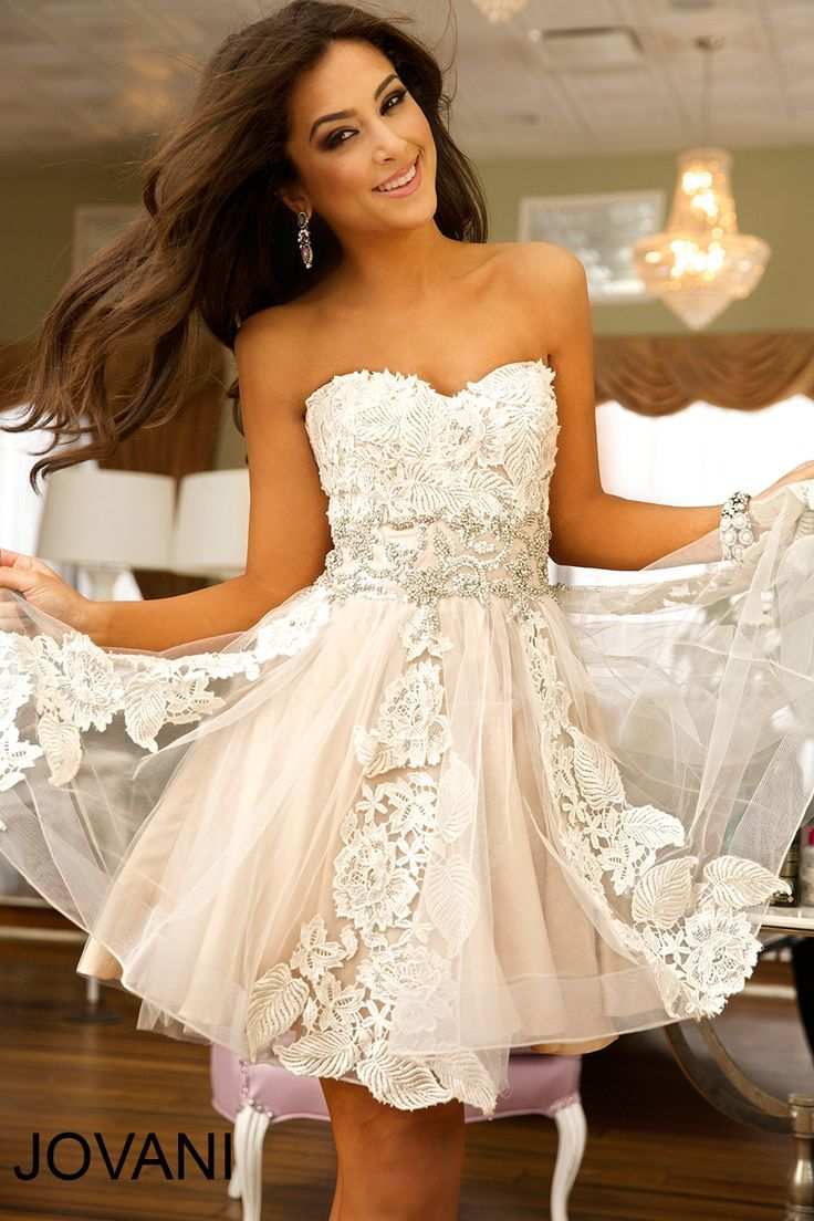 Pin By Lindy Pool On Style Target Champagne Homecoming Dresses Fit And Flare Cocktail Dress Gowns Dresses [ 1104 x 736 Pixel ]