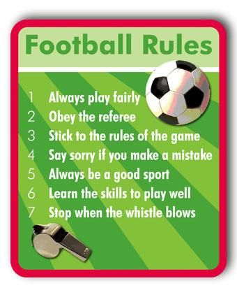 The Main Rules Of Football Are Explained Here