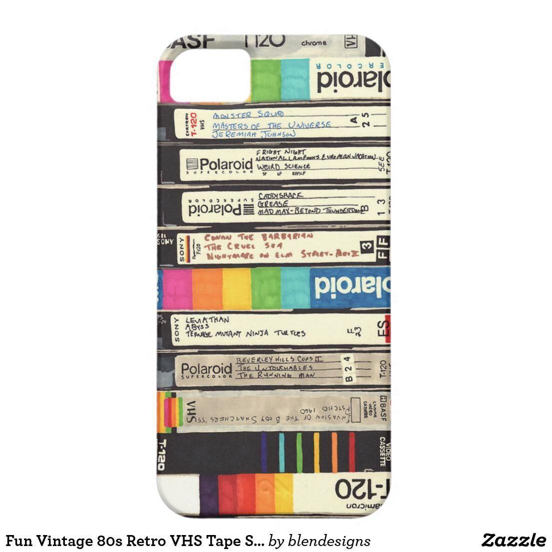 Retro VHS Stack Pin