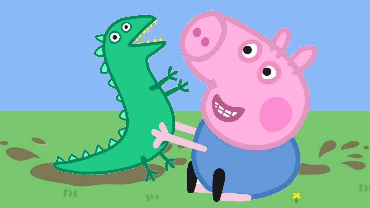 Desenho George Pig da Familia Peppa Pig Português 2015