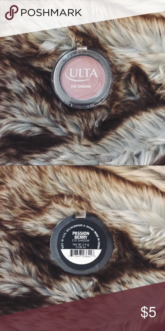 ULTA Eyeshadow Single in Passion Berry Ulta eyeshadow
