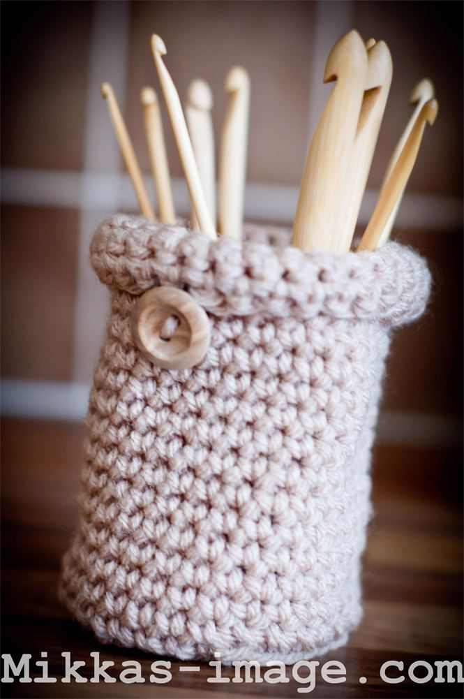 crochet hook holder | Crochet Inspiration & Patterns | Pinterest ...