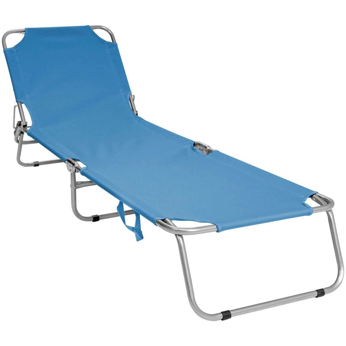 Folding Sun Lounger Available In 3 Colours Sun Lounger Folding