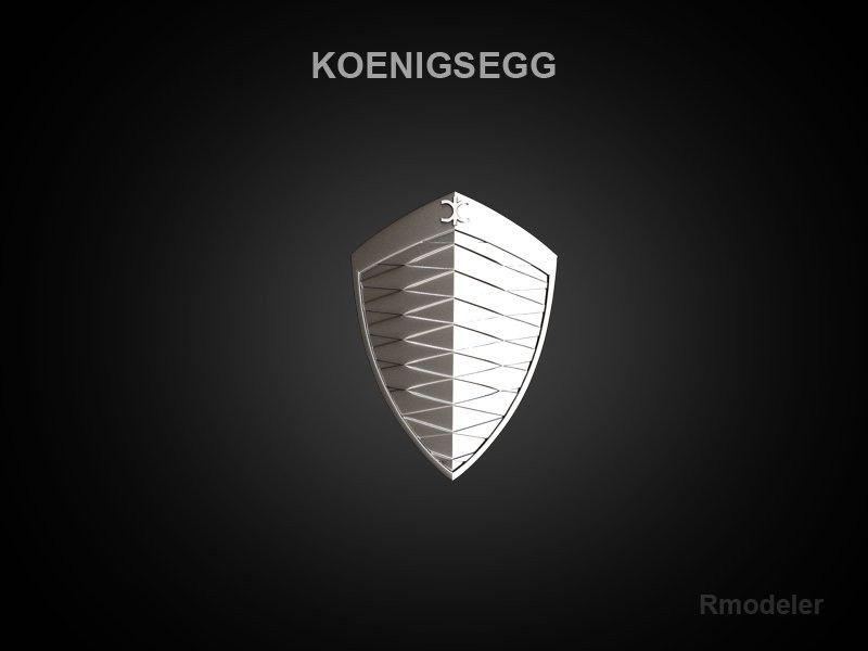Koenigsegg Logo Koenigsegg 3d Logo Exotic Rides Pinterest