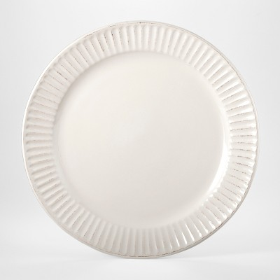 Stoneware Harrison Lines Dinner Plate 10 4 White Threshold Dinner Plates White Dinnerware Set Tableware Design