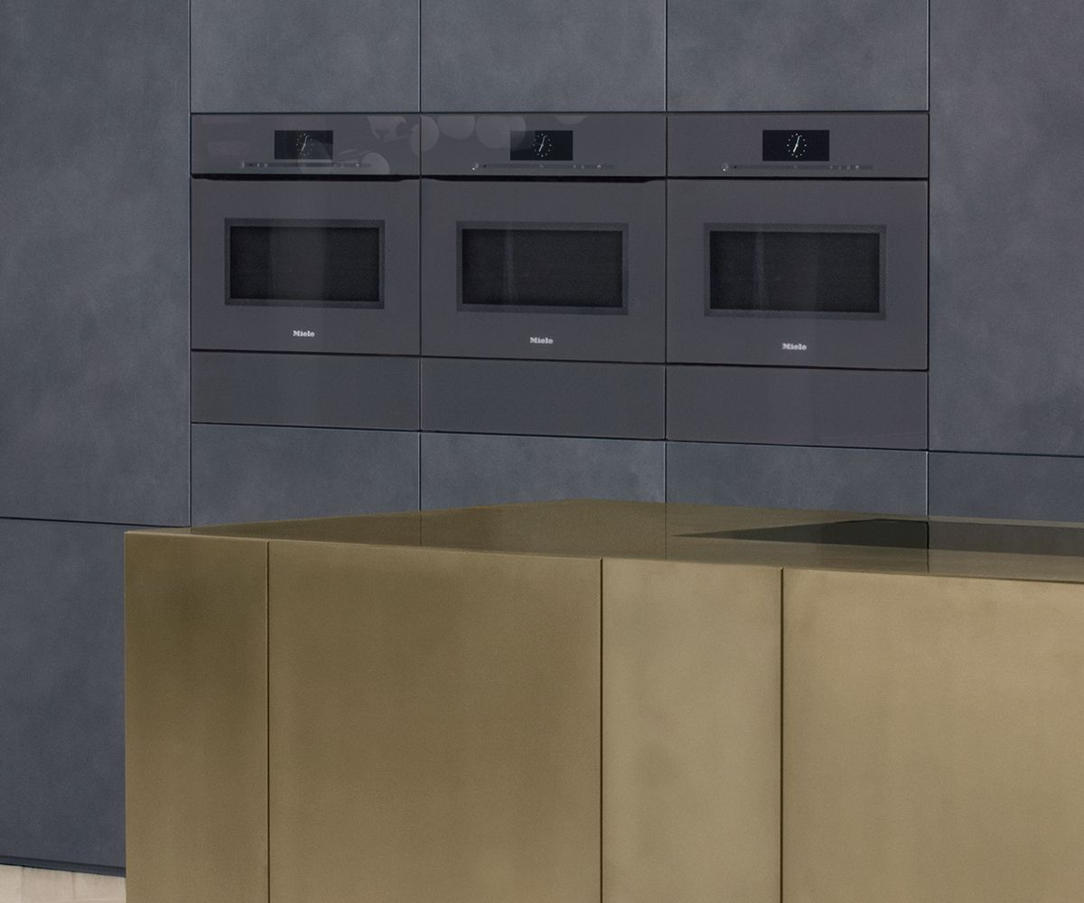 latest designer kitchen. Graphite Grey Is The Latest Colour Trend In Designer Kitchens  With Dark And Cool Accents