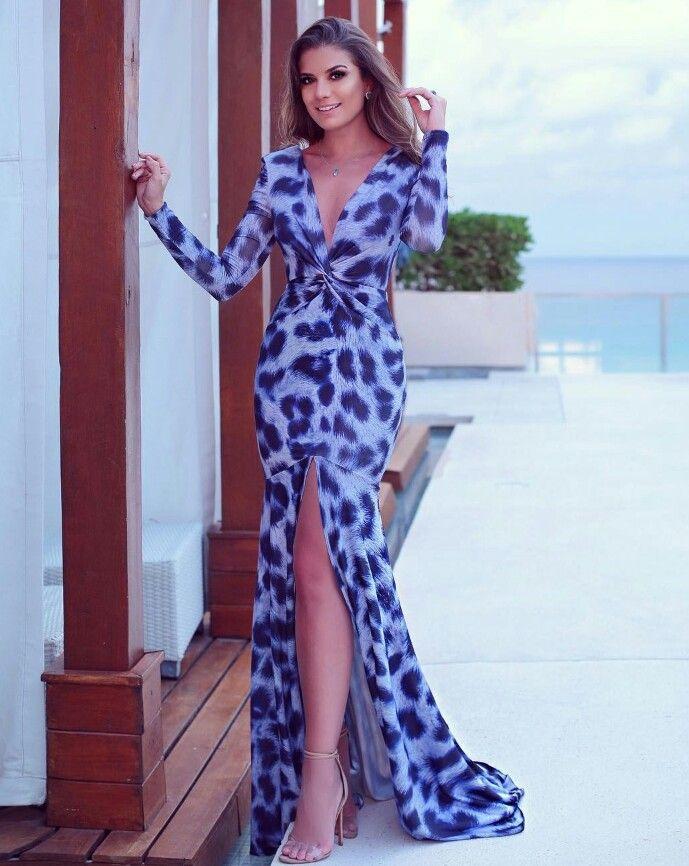 Pin de Viviane en Guarda Roupa | Pinterest | Vestiditos, Vestido ...