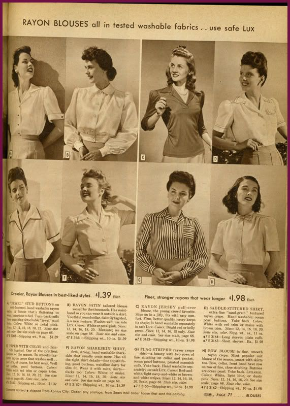 1940s Wardrobe Essentials Page 7 White Blouses Classic Love Clothing Wardrobe Essentials