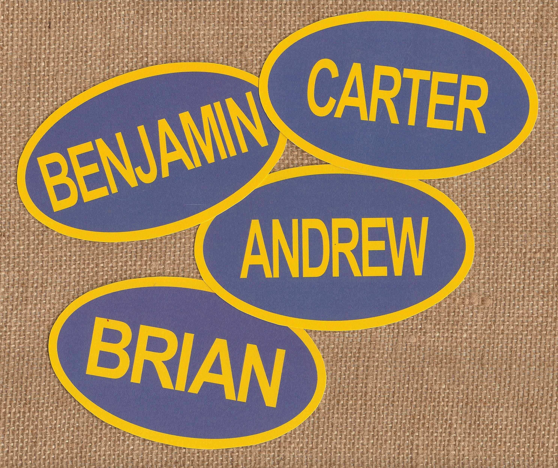 Family Feud Name Tags. 10 Names per Set. Name Tags. Game