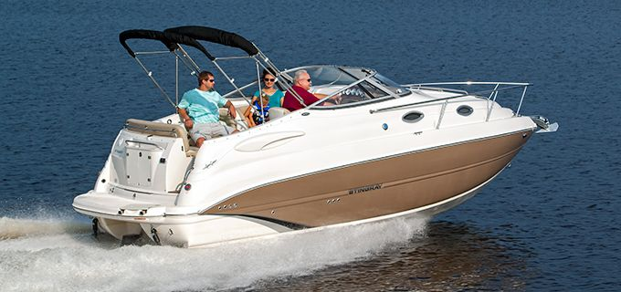 Stingray 250cs Mid Cabin Cruiser The Playbuoy Cuddy Cabin Boat Boat Cabin Cruiser