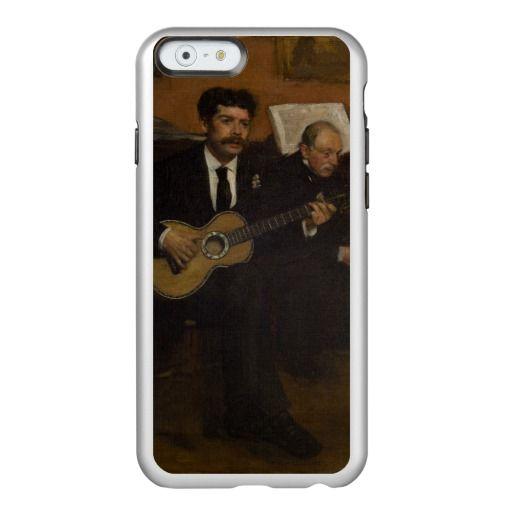 Lorenzo Pagans and Auguste de Gas by Edgar Degas Incipio Feather Shine iPhone 6 Case